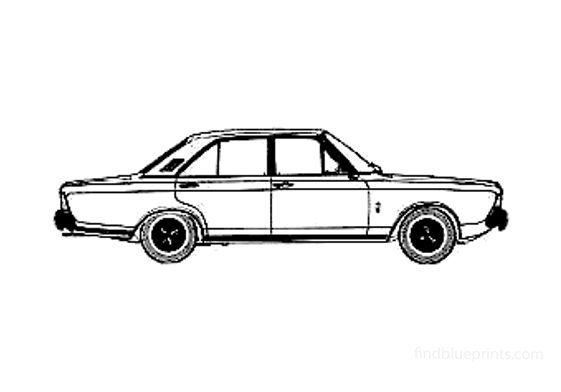Ford Taunus 20M (P7A) Sedan 1971