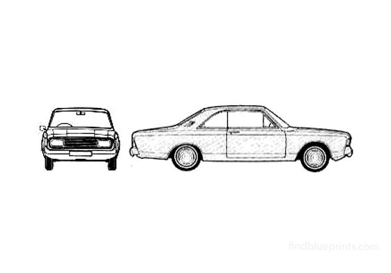 Ford Taunus 20M (P7B) Coupe 1970