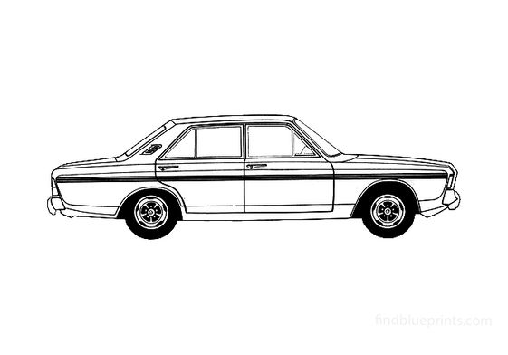 Ford Taunus 20M (P7B) RS Sedan 1969