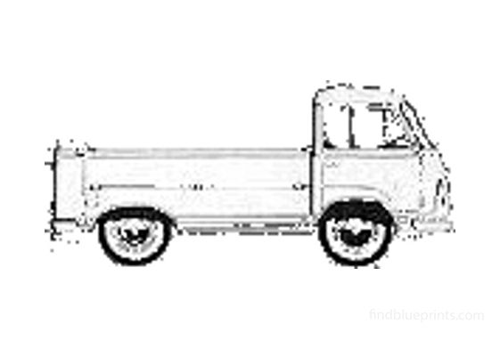 Ford Taunus Commercial Pick-up 1964