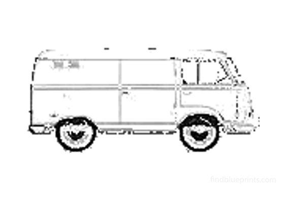 Ford Taunus Commercial Van 1964