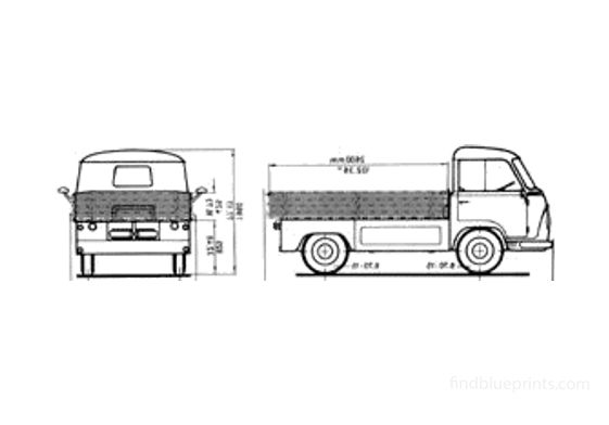 Ford Taunus FK Pick-up 1964