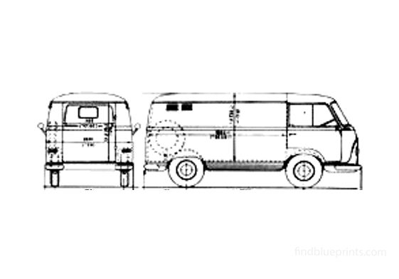 Ford Taunus FK Van 1964