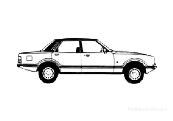 Ford Taunus Ghia Sedan 1978