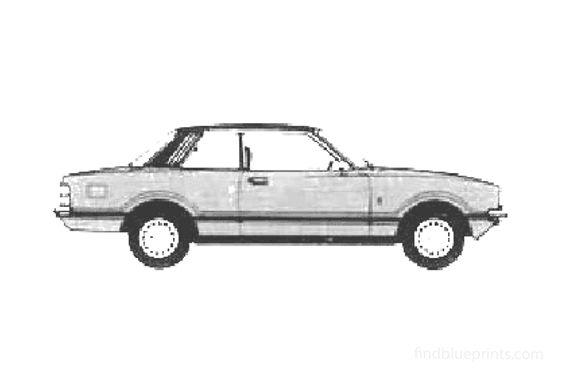Ford Taunus Ghia 2-door Sedan 1978