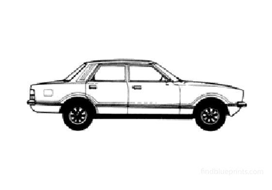 Ford Taunus GL Sedan 1978