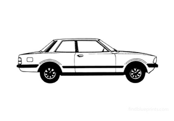 Ford Taunus GL 2-door Sedan 1979