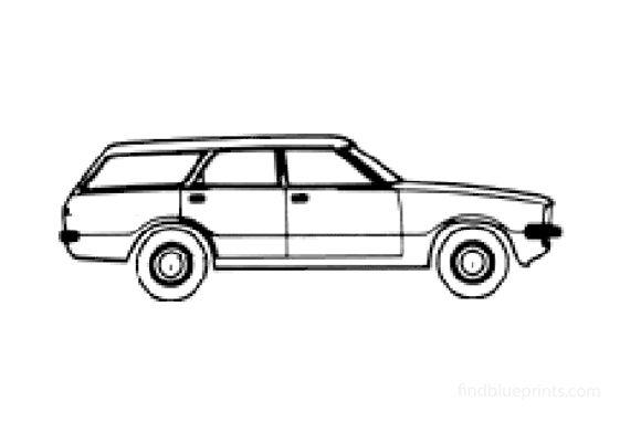 Ford Taunus Kombi Wagon 1978