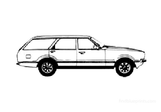 Ford Taunus Kombi GL Wagon 1978