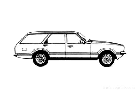 Ford Taunus Kombi L Wagon 1978