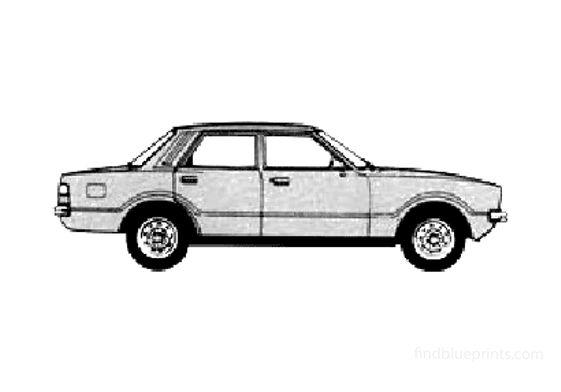 Ford Taunus L Sedan 1978