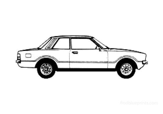 Ford Taunus L 2-door Sedan 1978