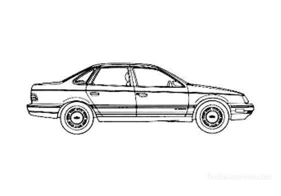 Ford Taurus Sedan 1987