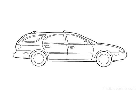 Ford Taurus Wagon 2003