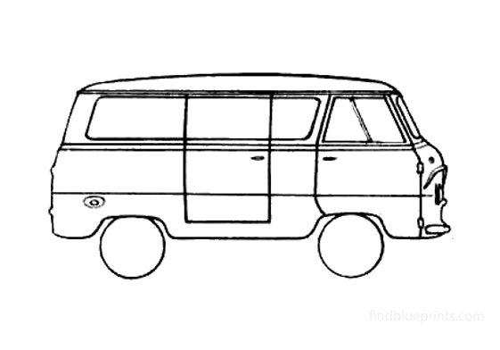 Ford Thames 800 Van 1959