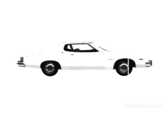 Ford Torino 2-door Hardtop Coupe 1975