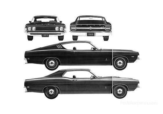 Ford Torino Cobra Coupe 1969