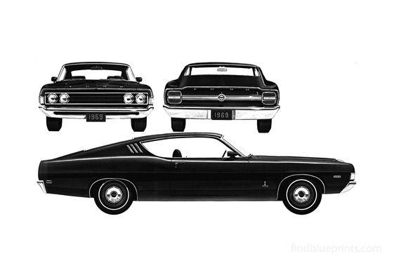 Ford Torino Cobra 428 Sportroof Coupe 1969