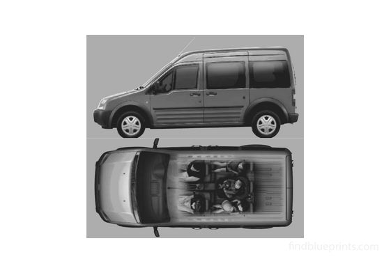 Ford Tourneo Connect Minivan 2002