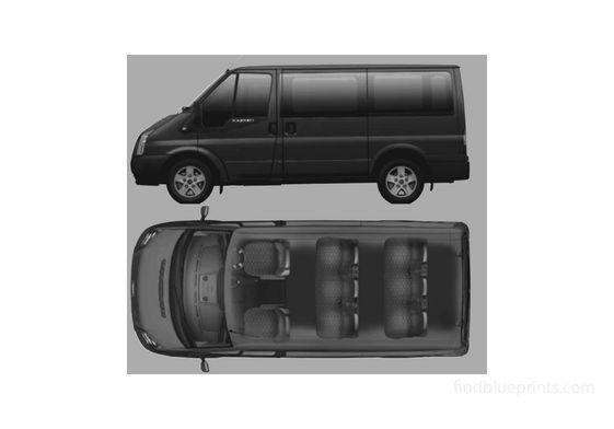 Ford Tourneo GLX Minivan 2006