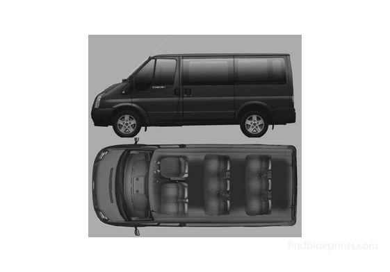 Ford Tourneo GLX 9-seat Minivan 2006