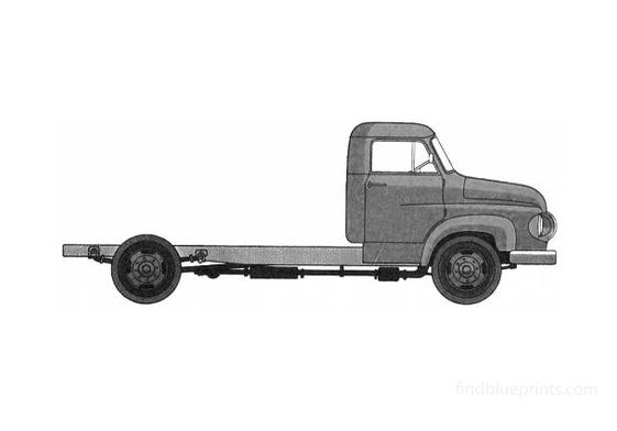 Ford Trader 30 Truck 1962
