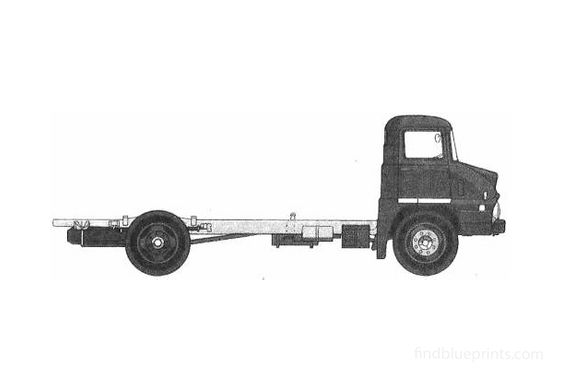 Ford Trader 50 Truck 1962