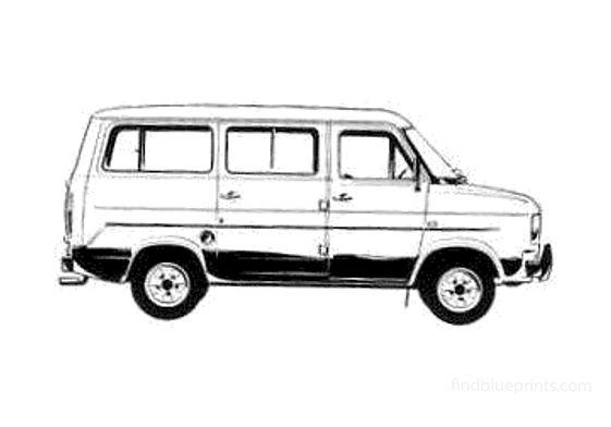Ford Transit Bus 1978