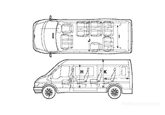 Ford Transit Bus 2005