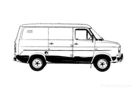 Ford Transit Van 1978