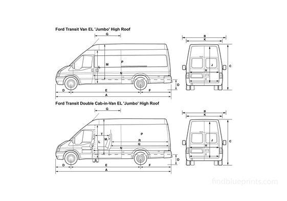 Ford Transit Van 2008