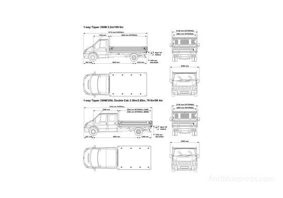 Ford Transit 350M Truck 2008