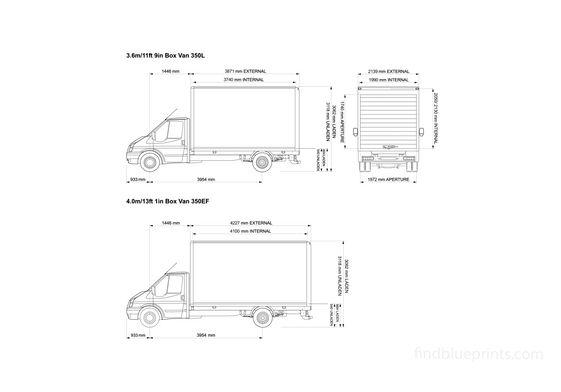 Ford Transit Box 350 Truck 2008