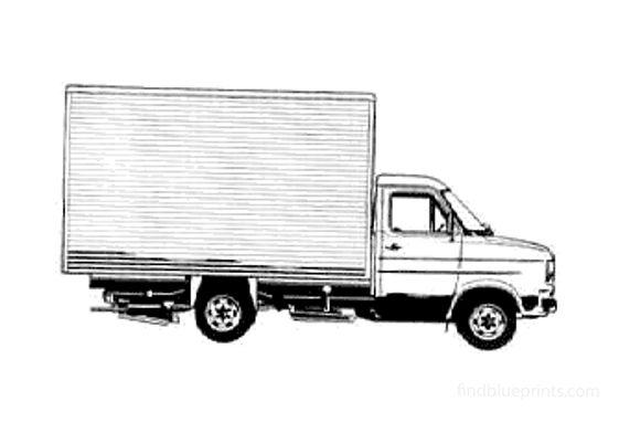 Ford Transit Box LWB Van 1978