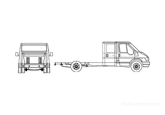 Ford Transit Chassis Truck 2005
