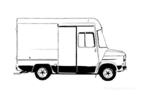 Ford Transit Delivery Van 1978