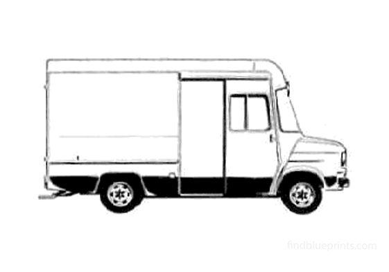 Ford Transit Delivery LWB Van 1978