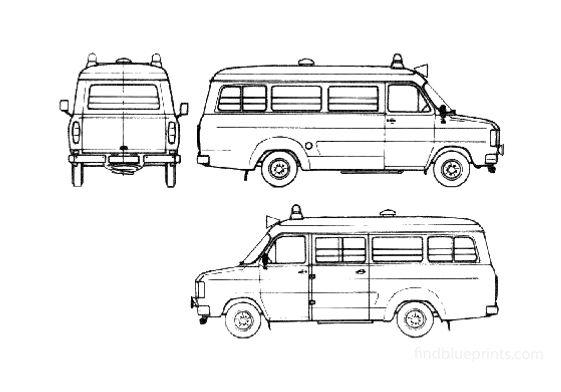 Ford Transit Fire Van 1980