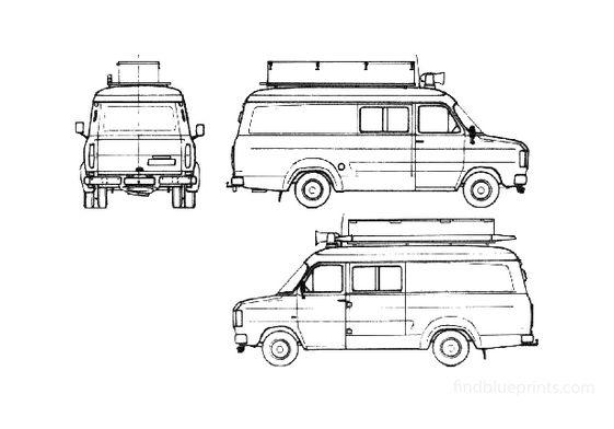 Ford Transit Fire Van 1982
