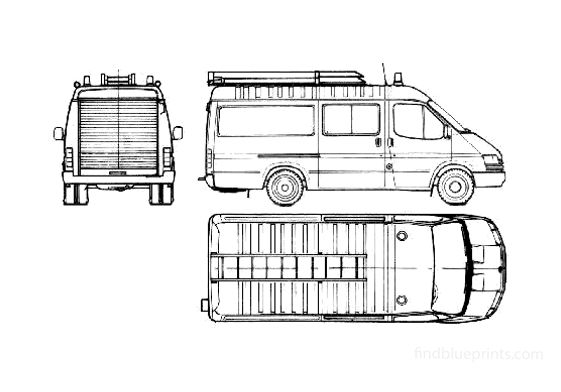 Ford Transit FT190 Fire Van 1986