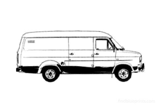 Ford Transit LWB Van 1978