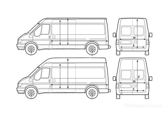 Ford Transit LWB Van 2005