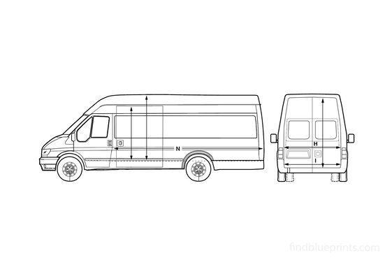 Ford Transit LWB Jumbo Van 2005