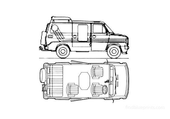 Ford Transit SIA Club Mobile Minivan 1981