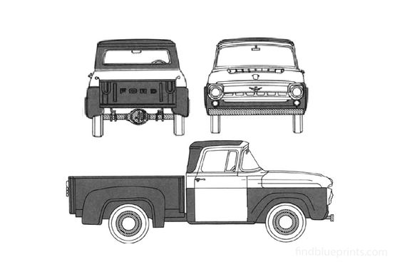 Ford Truck Pick-up 1958