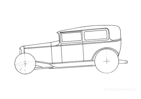 Ford Tudor Sedan 1931