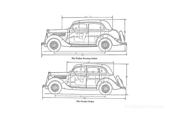 Ford Tudor Touring Sedan 1927