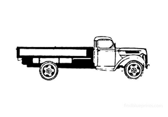 Ford V-3000S Truck 1948