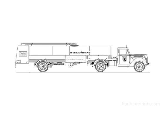 Ford V-3000S G198TS Traktor Truck 1948