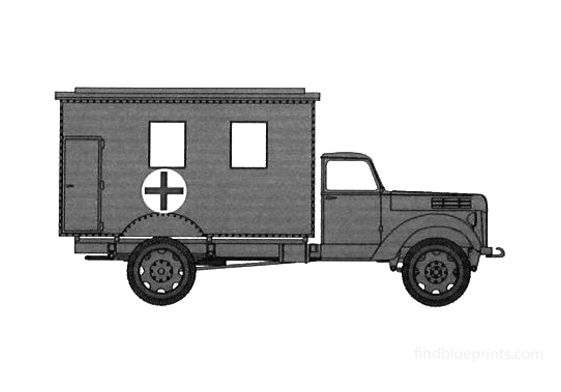 Ford V3000 Ambulance Van